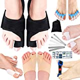 11 PCs Bunion Corrector and Bunion Relief Kit-3 Bunion Splints– Hammer Toe Separators, Spacers And Straighteners,...
