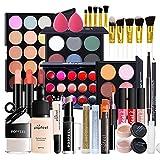 Kits de Maquillaje, Set de Cosméticos Todo en Uno, Set de Regalo de Maquillaje Kit de Inicio Completo con Sombras de Ojos, lápiz Labial, Kit de Cosméticos para Niñas Mujeres#2