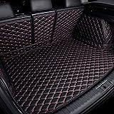 Coche Cuero Alfombrillas Para Maletero Para Hon-da CRV CR-V Hybrid 2017-2021, Antideslizante Maletero Alfombra Protection Trasero Equipaje Protectores Impermeable Accesorios