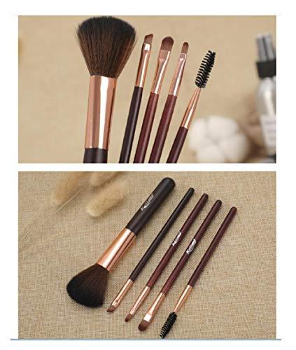 5 pinceaux de maquillage combinés, pinceaux de maquillage polyvalents, outils de maquillage-A1