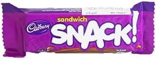 Cadbury Snack Sandwich - Milk Chocolate Sandwich Biscuit, 22 gm