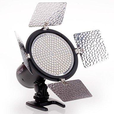 YONGNUO YN-216 Pro LED Luz de vídeo / High Power y regulable Potencia / Temperatura de color 5500 K - Negro