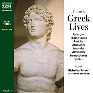 Selections from Greek Lives audiobook cover art