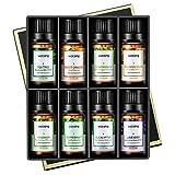 VicTsing Ätherische Öle Set (8x10ml), Essential Oil für Aromatherapie, Duftöl für Aroma...