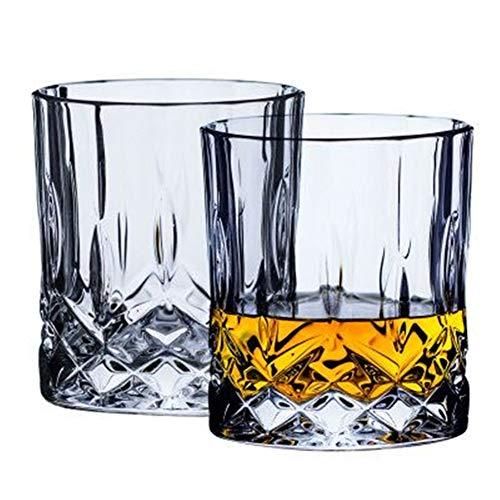 Crystal Whiskey wijnglas, milieubescherming, duurzaam, gemakkelijk schoon te maken, perfect voor moeders of vaderdag, verloving, huwelijksverjaardag, Kerstmis