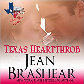 Texas Heartthrob     Lone Star Lovers, Book 1              By:                                                                                                                                 Jean Brashear                               Narrated by:                                                                                                                                 Eric G. Dove                      Length: 6 hrs and 33 mins     16 ratings     Overall 4.5