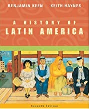 A History of Latin America by Keen Benjamin Haynes Keith (2003-08-08) Paperback