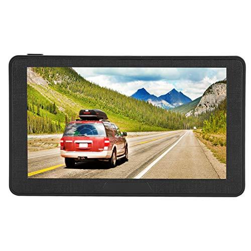 Navigatore GPS da 7 Pollici per Auto, Navigazione GPS per Camion, Navigatore per Auto Portatile con Guida Vocale e Avviso Autovelox, Sistema di Navigazione GPS con Schermo Capacitivo HD, 256 MB 8 GB