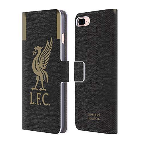 Head Case Designs Offizielle Liverpool Football Club Home Torwart 2019/20 Kit PU Leder Brieftaschen Huelle kompatibel mit Apple iPhone 7 Plus/iPhone 8 Plus