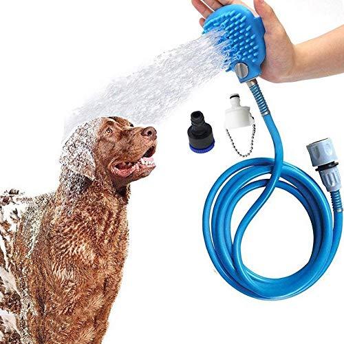 LKA Haustier Dusche Sprayer, Dusche Badewanne Und Garten Im Freien Kompatibel Schlauch, Hundepflege