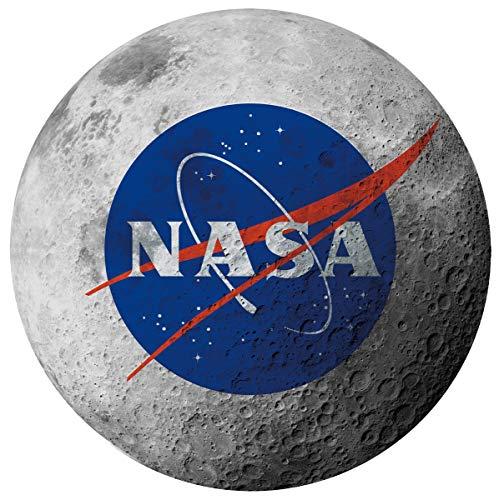 Calhoun NASA Moon Ultra-Realistic Lightweight Novelty Decorative Throw Blanket