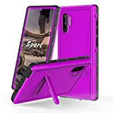 Samsung Galaxy Note10 Waterproof Case, IP68 Certified Waterproof Shockproof Dirtproof Snowproof Heavy Duty Protective Cover, Full Sealed Case with Built-in Screen Protector for Galaxy Note10 (Purple)