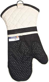 Guantes de horno aislados 1 par, guantes de silicona antideslizantes resistentes al calor anti escaldaduras para el hogar,...