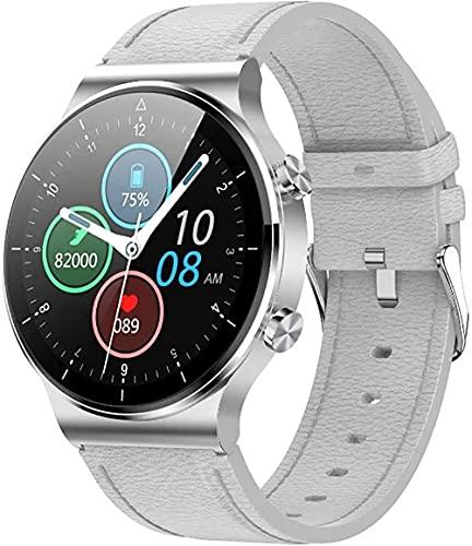 wyingj Reloj inteligente de los hombres de la aptitud de la llamada de Bluetooth del reloj IP68 impermeable de los deportes Watch-D