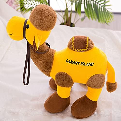 TRGCJGH El Juguete De La Felpa El Juguete De La Felpa del Camello del Desierto La Muñeca De La Almohada La Almohada para Dormir Puede Soportar El Regalo,B-30cm