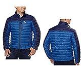 Gerry Men's Lightweight Warm Feather Down Jacket, Full Zip XXL