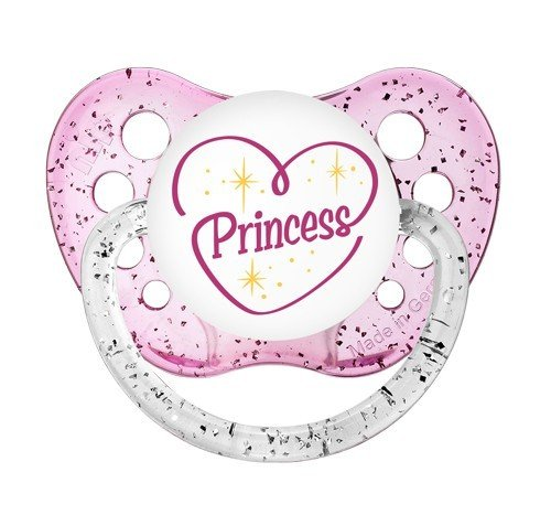 Reborn Doll Magnetic Pacifier Princess Ag Pink Girl. OFFicial Prop: Heart Large-scale sale