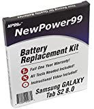 NewPower99 Battery Kit for Samsung Galaxy Tab S2 8.0 SM-T710, SM-T713, SM-T715, SM-T719 with Tools, Video Instructions, Long Life Battery