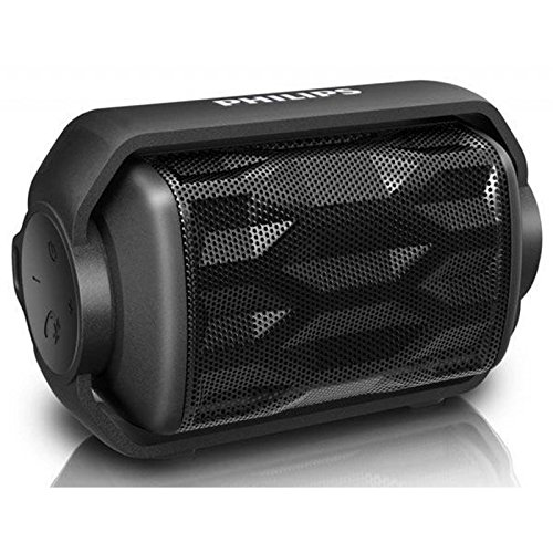 Altavoz Bluetooth Impermeable, Philips Negro