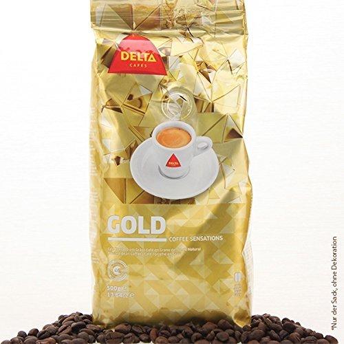 DELTA Café en granos - GOLD/ORO (café en granos) - 3 paquetes x 500 gramos