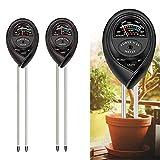 ZANEERY 2 Pack, Soil Test Kit, Soil pH Meter, 3-in-1 Soil Tester Kits with...