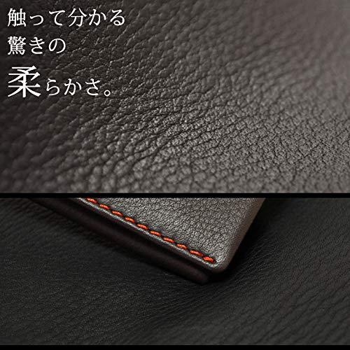 [タケオキクチ]名刺入れテネーロメンズ1705019【12】チョコ