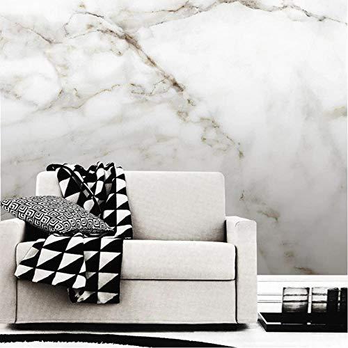 fczka Carta da parati autoadesiva Carta da parati moderna in marmo Paesaggio murale Soggiorno TV Divano Arredamento camera da letto Adesivi impermeabili 3D-S