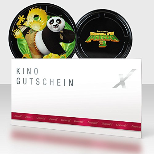 CinemaxX KungFu Panda Green Filmdose mit 1 Kinogutschein