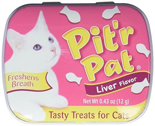Ambientadores para el aliento de gato con sabor a hígado de Pit'r Pat
