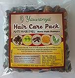 Yauvanya Make at home Shampoo DIY kit para el cuidado del cabello (Anticaída, sulfato y parabeno, 100% natural, sin productos químicos) - 3X100 gms