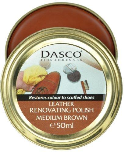Betún de renovación para zapatos, de Dasco, color marrón medio