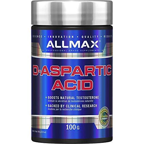 ALLMAX Nutrition D-Aspartic Acid 3 53 oz 100 g