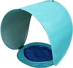 Baby Beach Tent,Zonneluifel Tent Pop-up Childrens Beach Tent Opvouwbare Waterdichte Outdoor Tent Draagbare Mini Zwembad Zo...