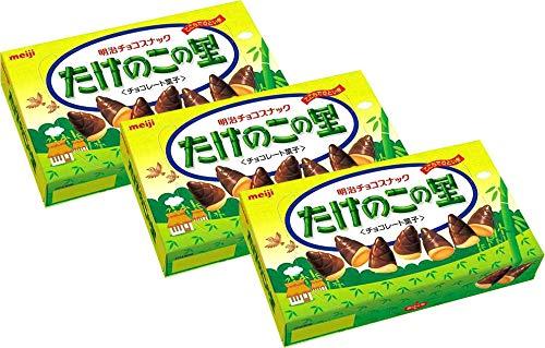 Meiji Takenoko no Sato Choco Snack 2.47oz (3 Pack)