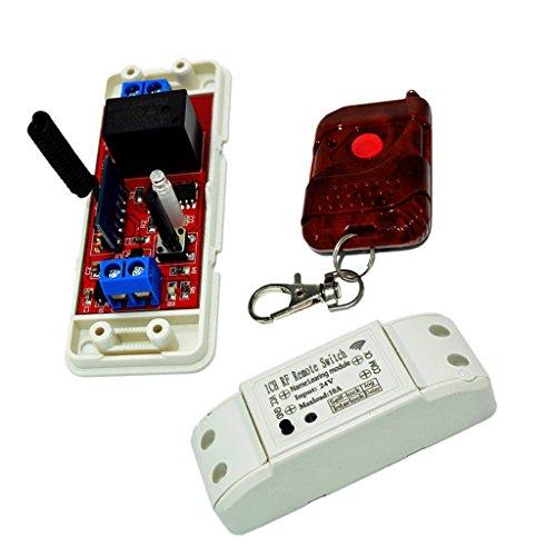 MagiDeal 433mhz Canal RF Récepteur De Télécommande sans Fil avec émetteur