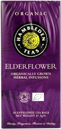Hambleden Herbs Organic Elderflower Tea 20 Teabags (1 Pack)