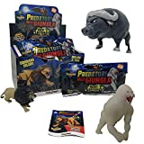 SBABAM - Depredadores de la Jungla Night Edition-Pack con 4 bolsitas Super Animales, 061-19