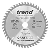 Trend CSB/16248 Craft <span class='highlight'>Saw</span> <span class='highlight'>Blade</span> 162mm x 48T x <span class='highlight'>20mm</span>