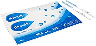 Wondfo 20 Early Detection (LH) Ovulation Strip Test Pack, 20-Count