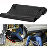 Folding Moving Pad Non-Slip Car Creeper, Zero Ground Auto Mechanics Repair Creepers Mat Rolling Pad Under The Vehicle for Cars Working and Household,Black