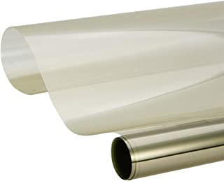 ATMOMO 70% VLT Car Window Tint Film Transparent Vinyl DIY Car Window Tinting UV Protection 0.5Mx3M