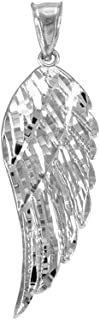 Best angel wing pendant silver Reviews