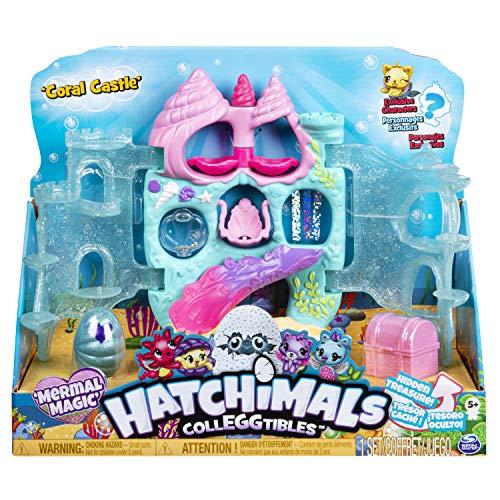 Hatchimals CollEGGtibles Coral Castle Playset - Season 5 - Kits de figuras de juguete para niños (5 año(s), Multicolor, Niño/niña, China, 304,8 mm, 120,7 mm) , color/modelo surtido