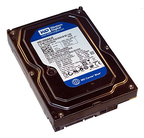 Western Digital WD1600AAJS 160 GB SATA II Festplatte 7200 RPM 8 MB Cache 3,5 Zoll HDD für PC, Mac, CCTV DVR