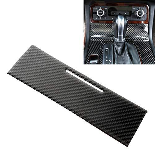 Coche de la fibra del carbón del marco de mechero panel adhesivo decorativo for Volkswagen Touareg Alta calidad