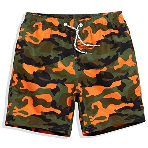 Heren zwembroek Sneldrogende strandbadmode | Groot en comfortabel | Maat S, M, L, XL, 2XL, 3XL