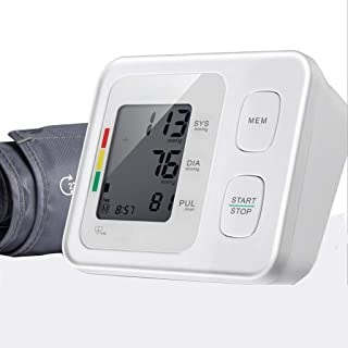 Life HS Brazo Digital Digital automático esfigmomanómetro Cuidado en el hogar electrónica presión Arterial Pulsera Ritmo cardíaco monitorización Pantalla precisa