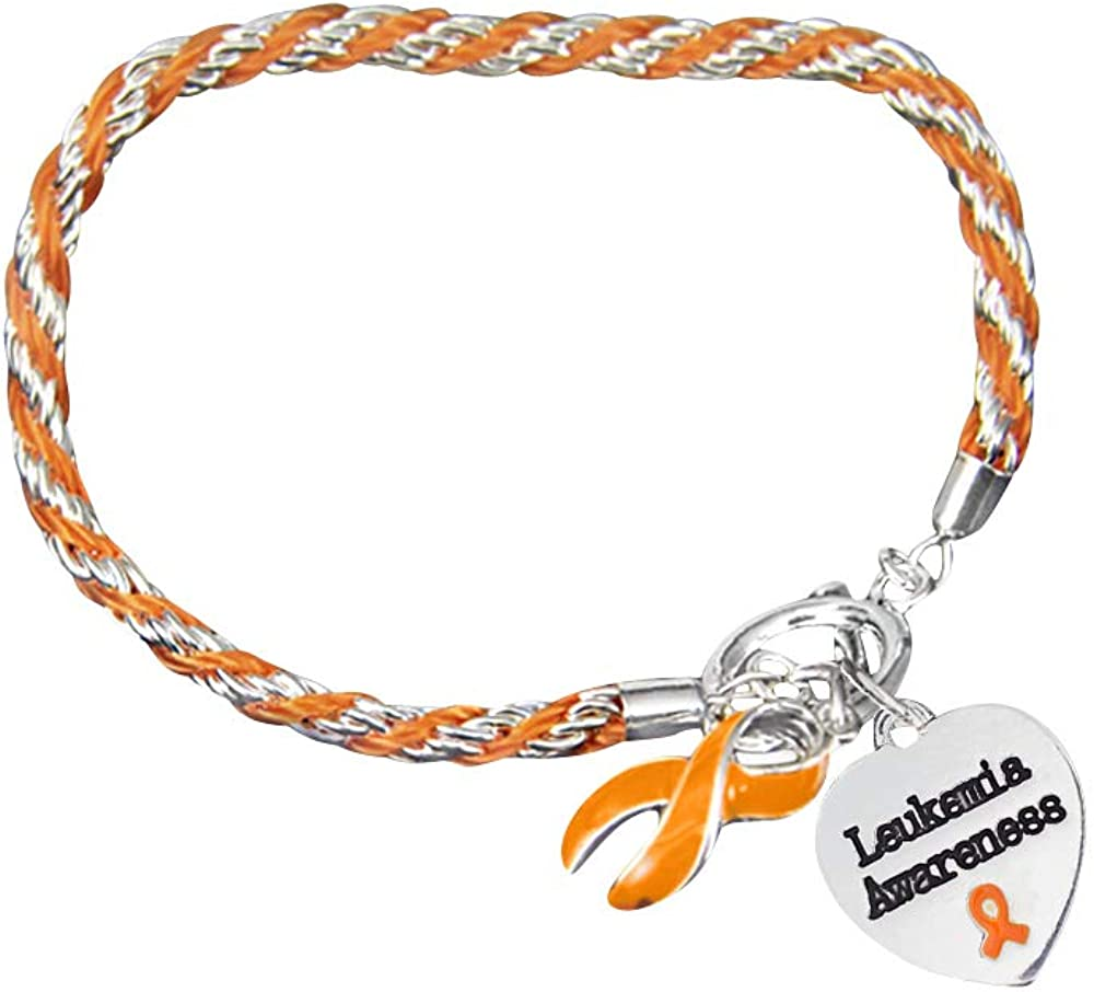 Fundraising For Sales for sale A sold out Cause Leukemia Charm Awareness with Bracelet