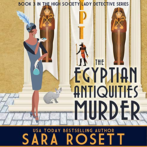 Page de couverture de The Egyptian Antiquities Murder
