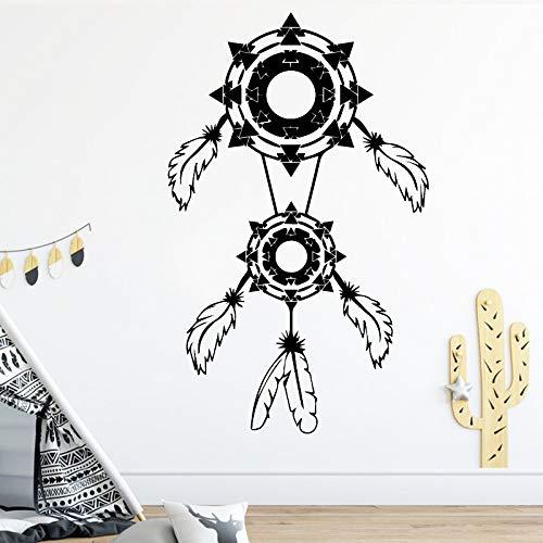 Geschnitzte Feder Tapete Rolle Möbel dekorativ für Baby Kinderzimmer Dekor Diy Pvc Home Decoration Braun L 43cm X 69cm